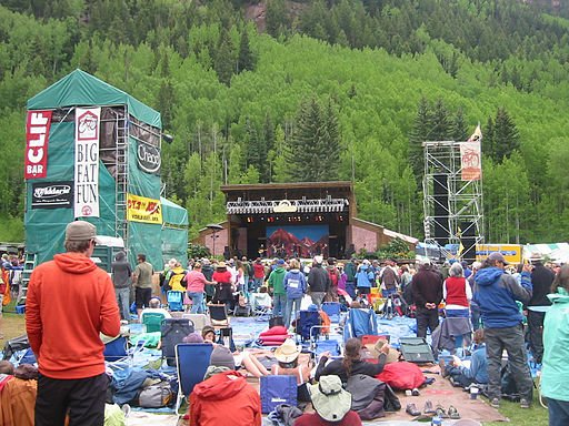 It's Tarp Time! Telluride Bluegrass Festival 2015