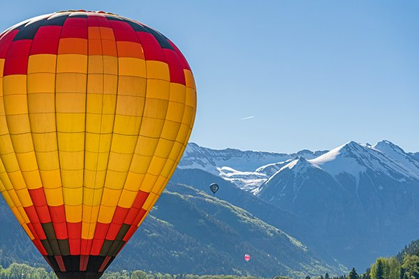 Up, Up, and Away: Telluride Balloon Festival