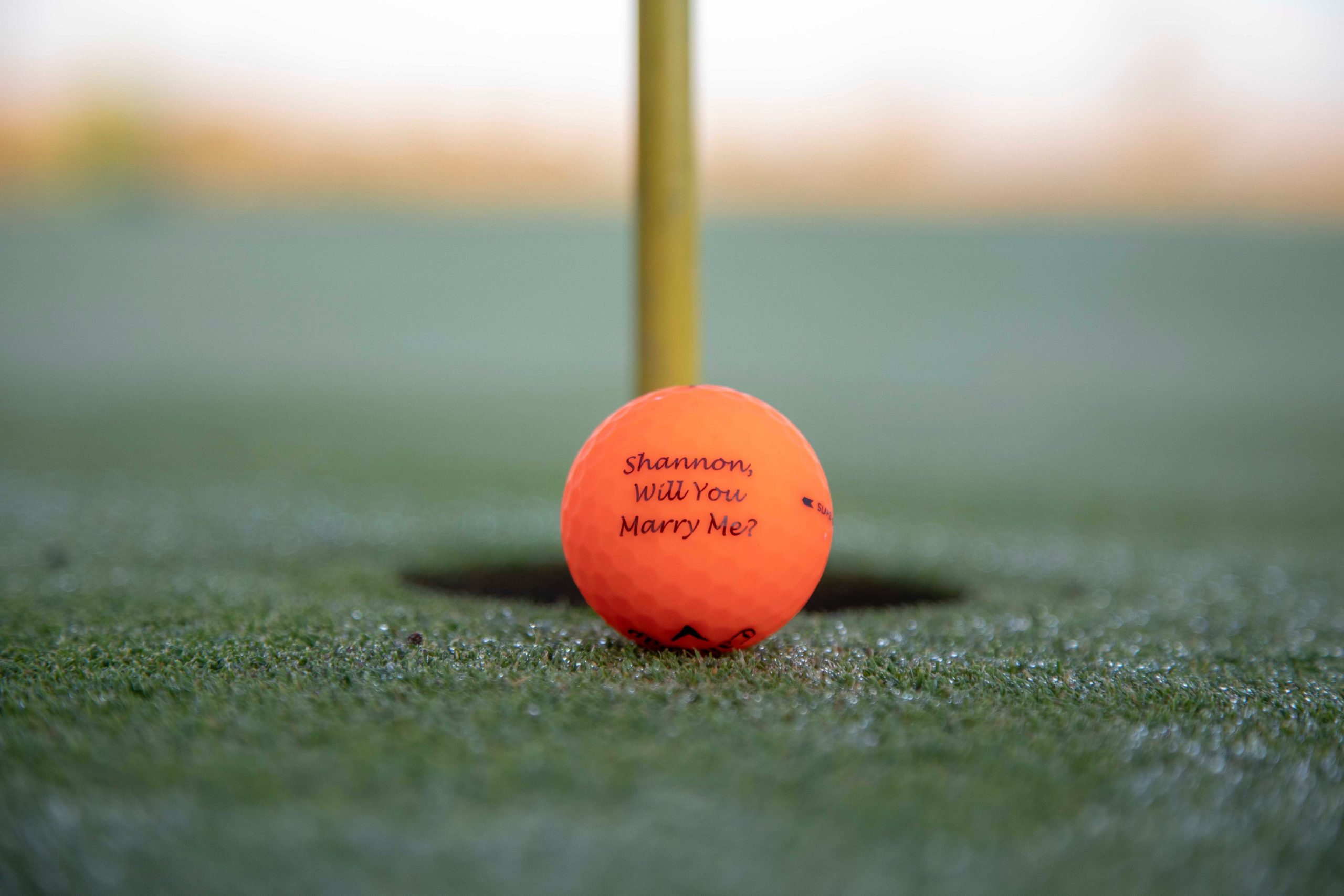 Shannon Marry Me Golf Ball