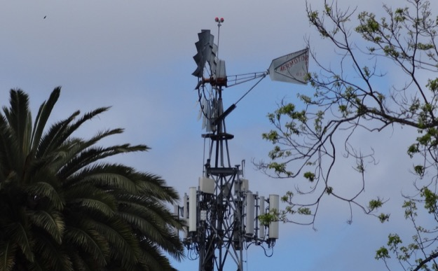 Salinas windmill cell site