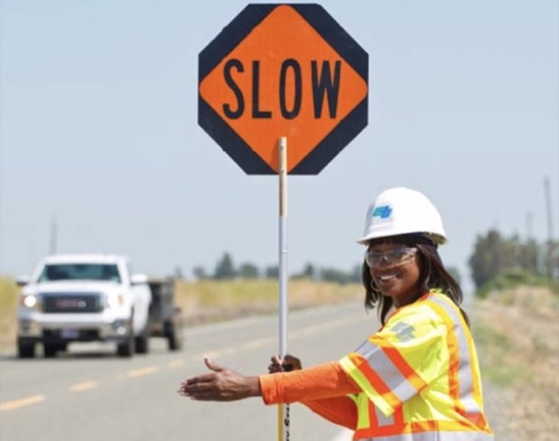 Caltrans slow 2