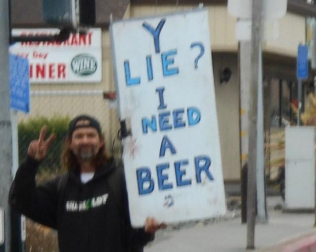 Need a beer