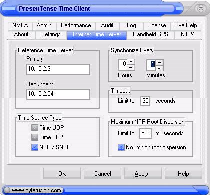 Presentense Client Software