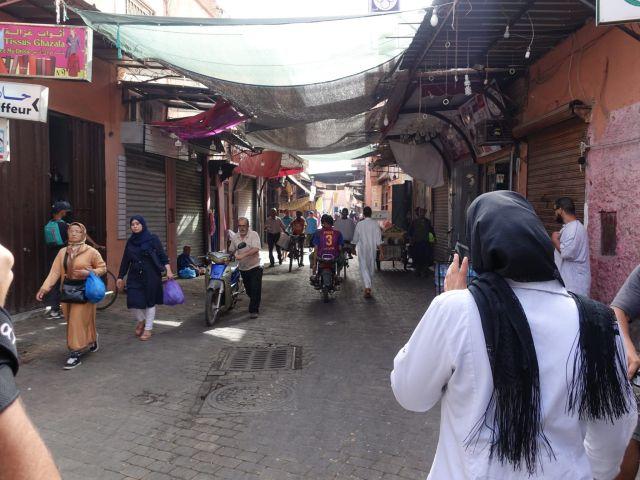 Camino a lo curtidores, Marrakech