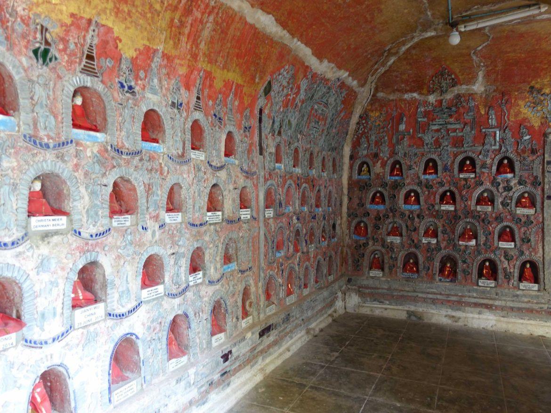 Monasterio Shwe Yan Pyay, Lago Inle, Myanmar