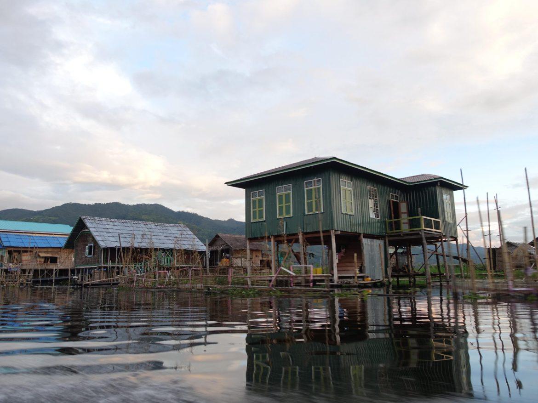 Pueblo flotante, Lago Inle, Myanmar