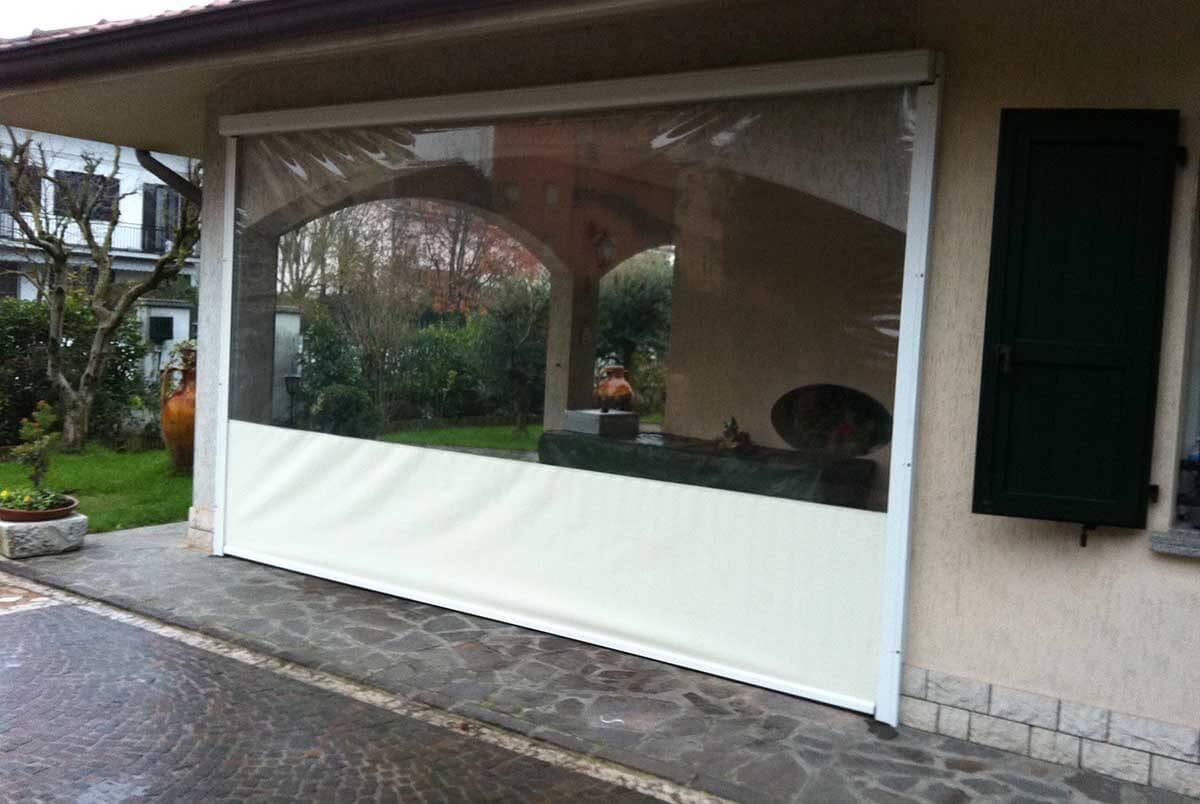 tende oscuranti sistemi oscuranti per finestre interni ed esterni. Tende Avvolgibili Trasparenti Per Pergolati Porticati E Gazebo
