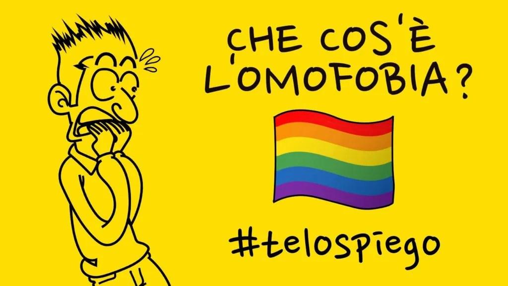 CHE COS'È L'OMOFOBIA? #TELOSPIEGO!
