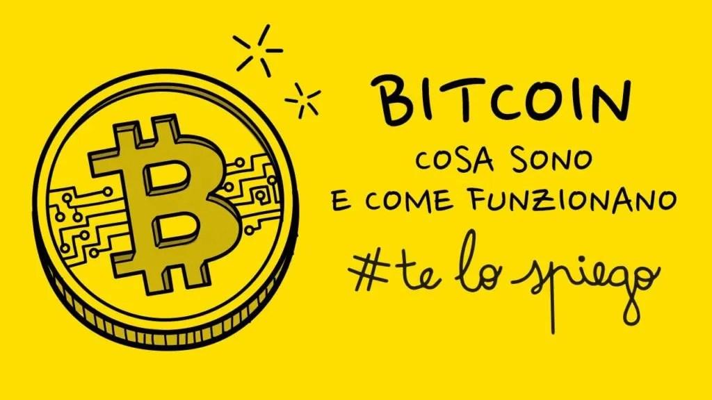 CHE COSA SONO E COME FUNZIONANO I BITCOIN? #TELOSPIEGO!