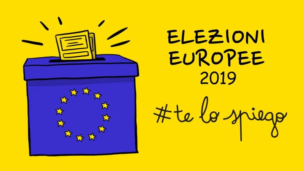 ELEZIONI EUROPEE 2019, COME E PER COSA SI VOTA? #TELOSPIEGO!