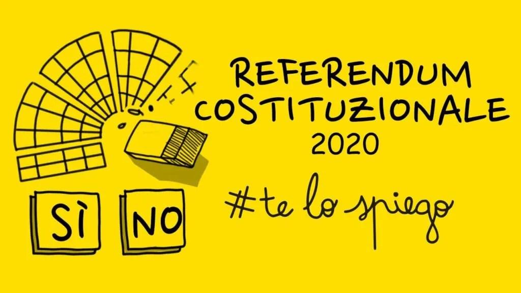 COME FUNZIONA IL REFERENDUM COSTITUZIONALE DEL 29 MARZO 2020? #TELOSPIEGO!