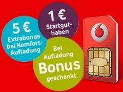 Vodafone Freikarte (Montage Teltarif.de)