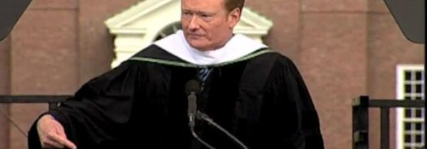 Conan Gives a Great Commencement Speech at Dartmouth