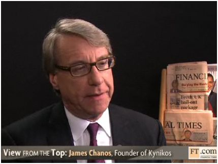 Bloomberg Interview: Jim Chanos on China and Europe (Oct 28