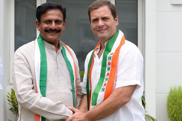 Byreddy Rajasekhar Reddy join in congress