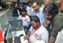 Pawan Kalyan inaugurated JSP IT Centre, Raidurgam, Hyderabad.