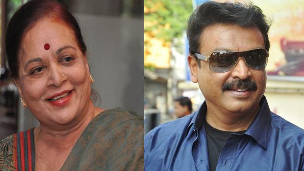 vijaya nirmala beat to naresh after watching ghatana movie