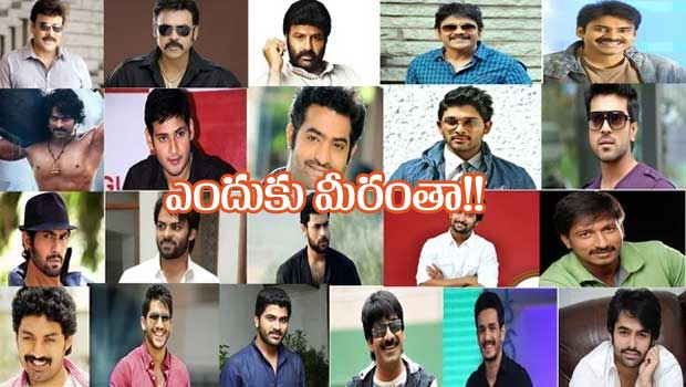 tollywood stars had no reaction for ap special status