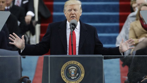 trump take charge as 45th american president