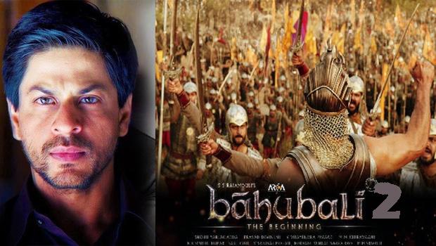 rajamouli hide shahrukh khan role in bahubali 2 movie
