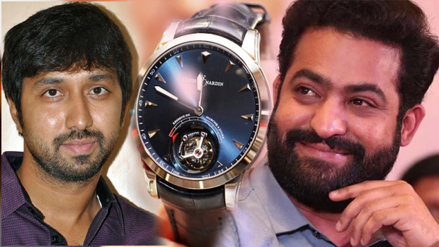 ntr presents costly watch to bobby