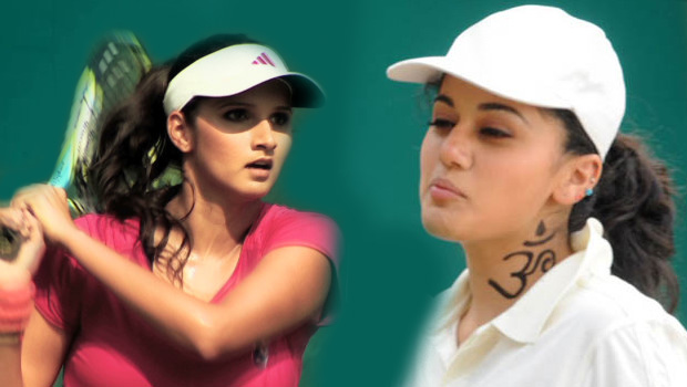 tapsee in sania mirza biopic movie