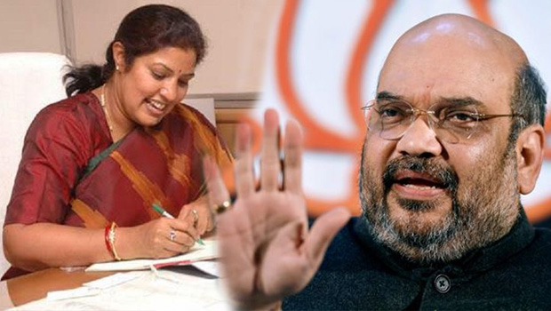 purandeswari wrote letter to amit shah about on tdp cabinet expansion