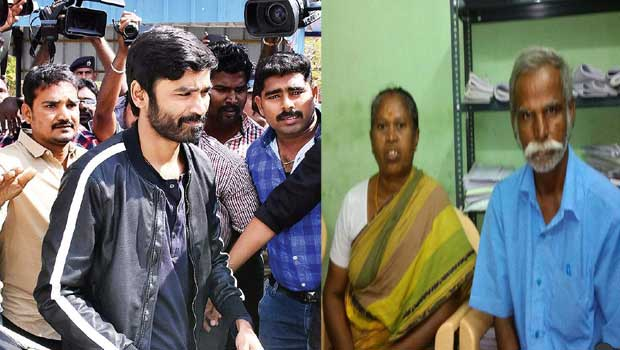 dhanush is not accepting his own parents