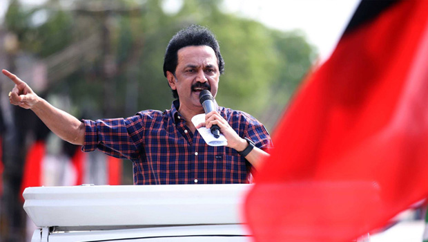 dmk leader stalin voice rise over the hindi sign boards on roads