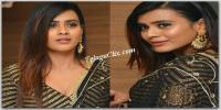 Hebah Patel at 24 Kisses Audio Launch