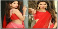 Tanya Hope in Saree HD Photos