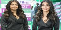 Pooja Hegde at Oppo F11 Pro Mobile Launch