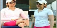 Rakul Preet Singh Golf Photos