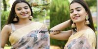 Rukshar Dhillon in Saree Photos