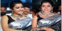 Rashmika Mandanna in Saree