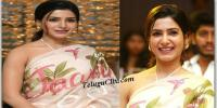 Samantha at Jaanu Thank You Meet
