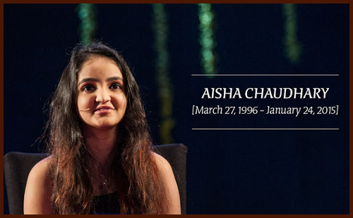 Image result for aisha choudhary