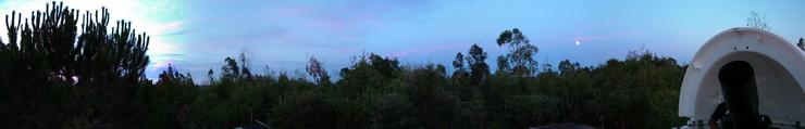 Vista des de l'observatori