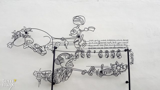 เที่ยวปีนัง ด้วยตัวเอง พร้อมแนะนำ ที่พักปีนัง Street Art