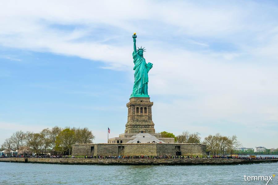รวมที่เที่ยว New York รีวิว เที่ยวเทพีเสรีภาพ Statue of liberty เรื่องต้องรู้ ก่อนไปชมเทพีเสรีภาพ เที่ยว New York Landmark ห้ามพลาด
