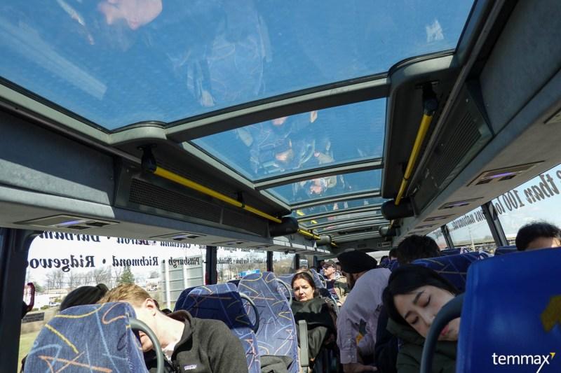 รีวิว เที่ยว Washington DC เดินทางจาก New York ด้วย Mega Bus