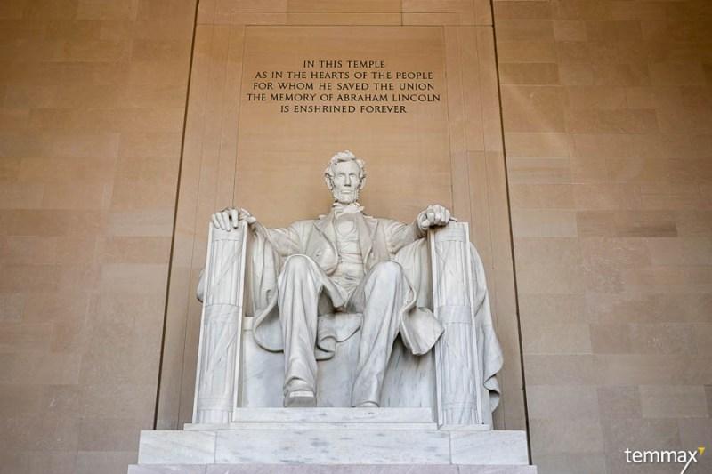 เที่ยว Washington DC, Abraham Lincoln Statue