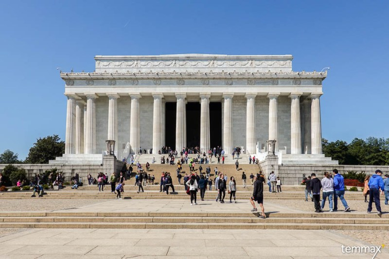 เที่ยว Washington DC, Lincoln Memorial