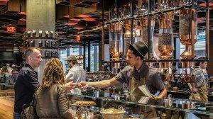 เที่ยว Starbucks Reserved Roastery New York ร้านกาแฟสตาร์บัค ห้ามพลาดนิวยอร์ก