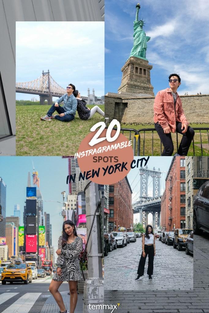 เที่ยว New York รวม Landmark จุดถ่ายรูปห้ามพลาด