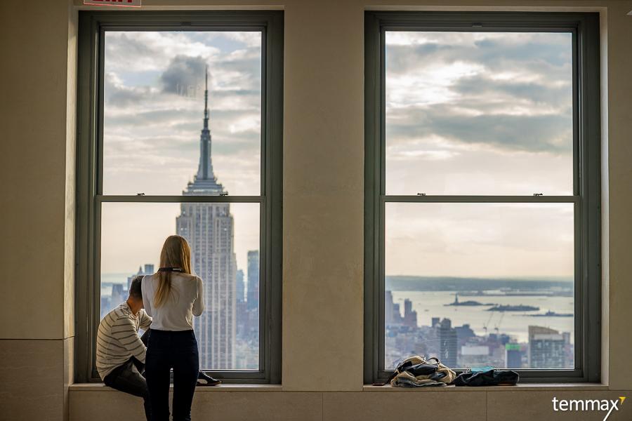 Top of the rock ขึ้นตึก ชมวิว New York แมนฮัตตัน