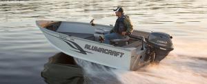 Alumacraft Escape 145 Tiller + Motor + Trailer zum Preis von 18.590,00 €