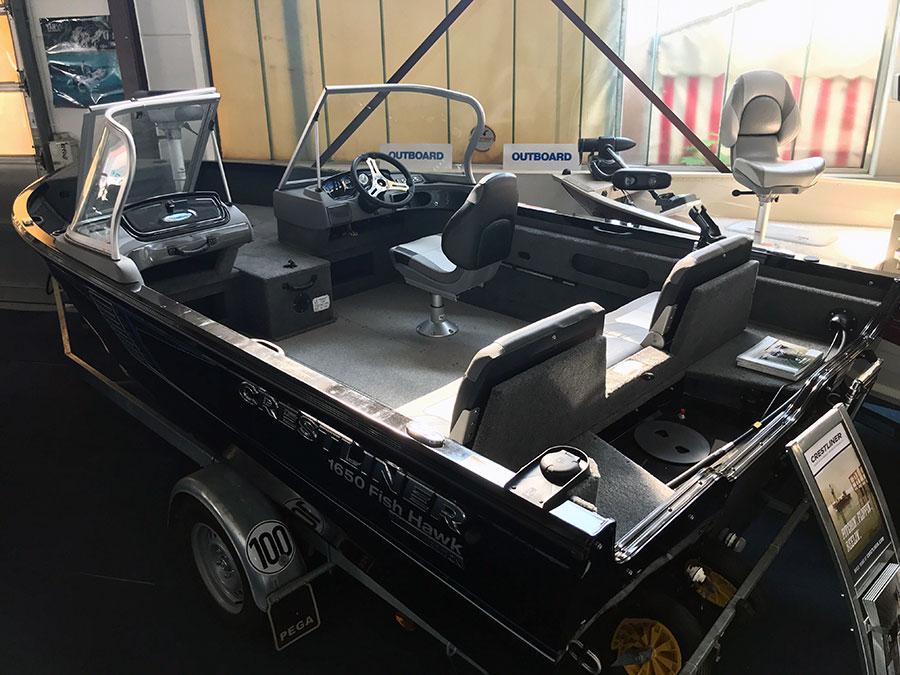 Crestliner Fish Hawkt 1650 SE WT Neuboot