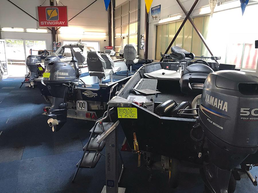 Verkaufsraum Tema Marine