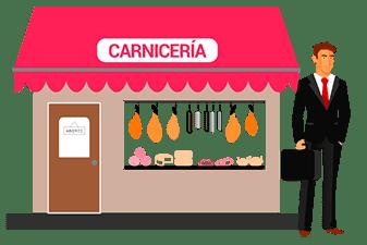 fuerzas de ventas: carnicerias